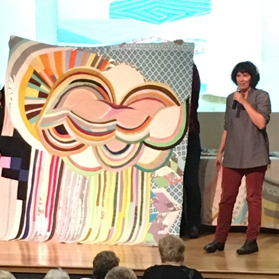 Sherri Lynn Wood, Greater Ann Arbor Quilt Guild, Improvisational Quilting