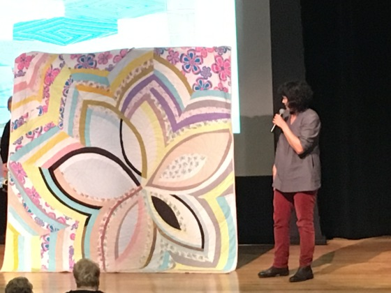 Sherri Lynn Wood, Improvisational quilt ann arbor quilt guild
