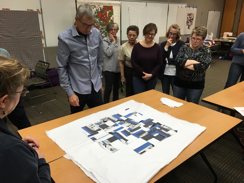 Quilts workshop Joe Cunningham