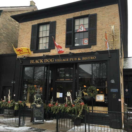 Black Dog Village Pub & Bistro, Bayfield, Ontario