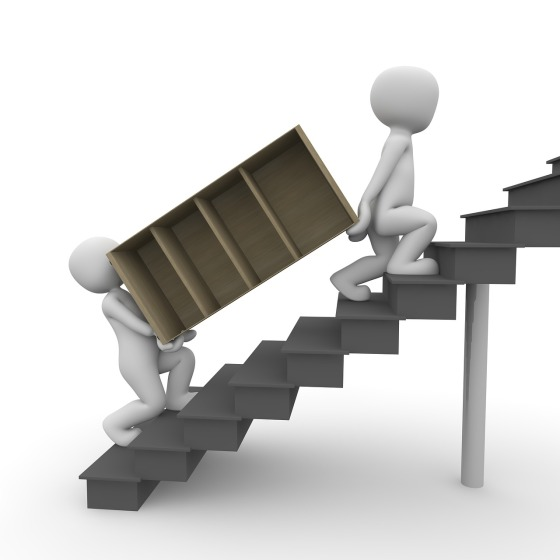 Umzug Treppe